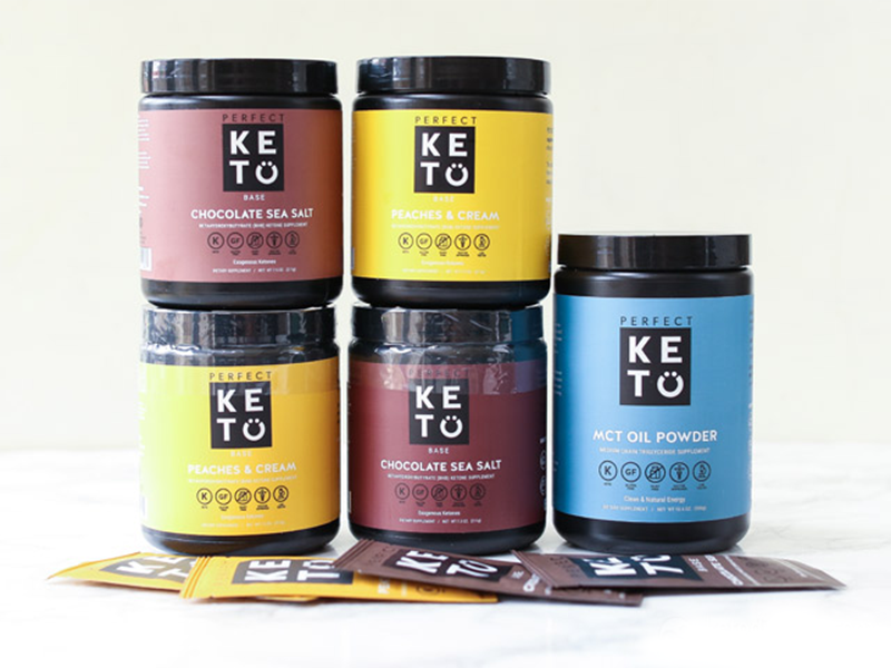 Flat 18% Discount On All Perfect Keto Supplements